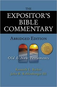 Expositor's Bible Commentary abridged