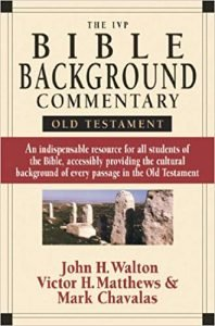 IVP Bible Backgrounds Commentary Old Testament