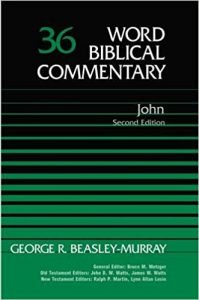 John commentary by George Beasley Murray