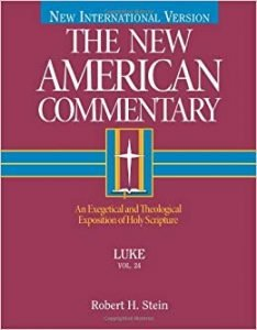 Luke commentary by Robert Stein