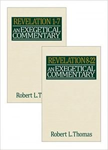 Revelation commentary by Robert Thomas