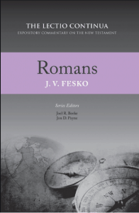 Romans commentary by J.V. Fesko