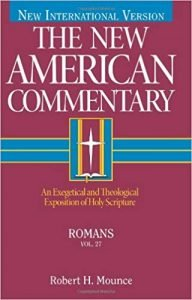 Romans commentary by Robert Mounce