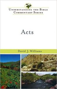 Acts commentary by David Williams