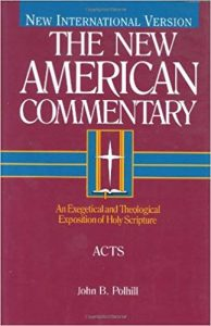 Acts commentary by John Polhill