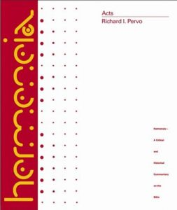 Acts commentary by Richard Pervo