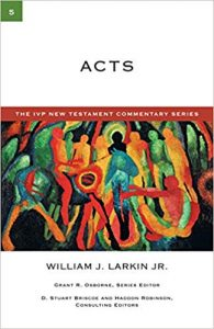 Acts commentary by William Larkin