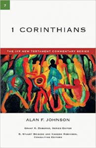 1 Corinthians commentary Johnson