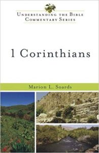 1 Corinthians commentary Marion Soards