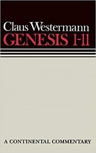 Genesis commentary by Claus Westermann