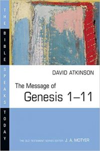 Genesis commentary by David Atkinson