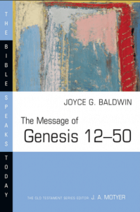 Genesis commentary by Joyce Baldwin