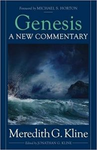 Genesis commentary by Meredith Kline