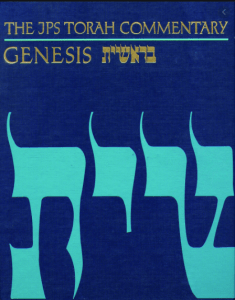 Genesis commentary by Nahum Sarna