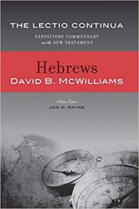 Hebrews commentary by David McWilliams