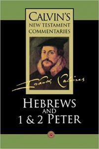 Hebrews commentary by John Calvin