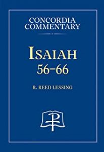 Isaiah commentary Reed Lessing