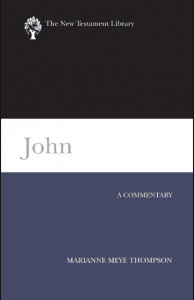 John commentary by Marianne Meye Thompson