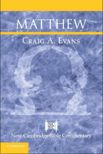 Matthew commentary by Craig Evans