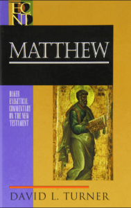 Matthew commentary by David Turner