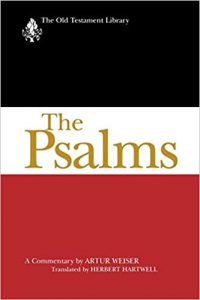 Psalms commentary by Artur Weiser