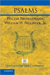 Psalms commentary by Brueggemann