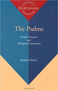 Psalms commentary by Terrien