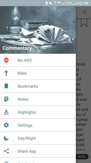 bible commentary app