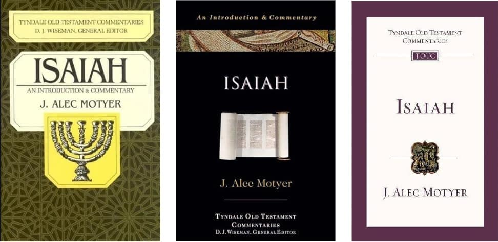 Isaiah commentary Alec Motyer