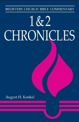 Chronicles commentary Konkel