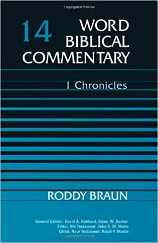 Chronicles commentary Roddy Braun