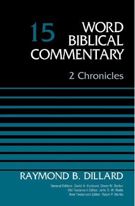 Chronicles commentary Dillard