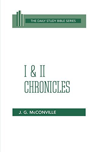 Chronicles commentary McConville
