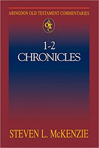 Chronicles commentary Steven Mckenzie