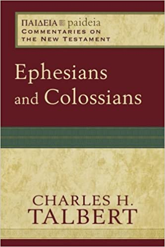 Colossians commentary Charles Talbert