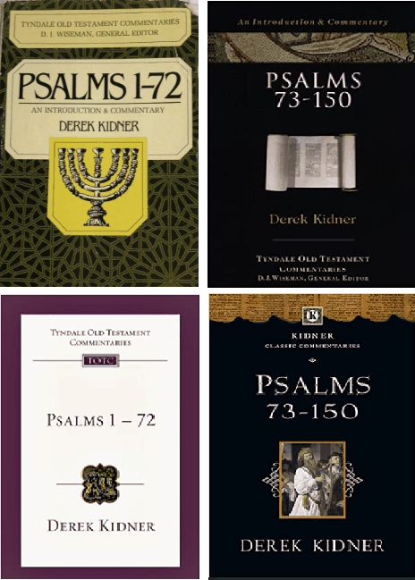 Derek Kidner Psalms commentary