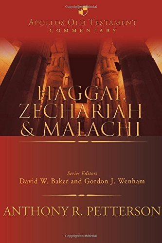 Haggai commentary Anthony Petterson