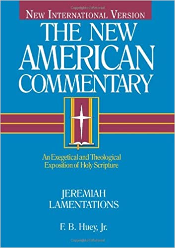 Lamentations commentary F.B. Huey