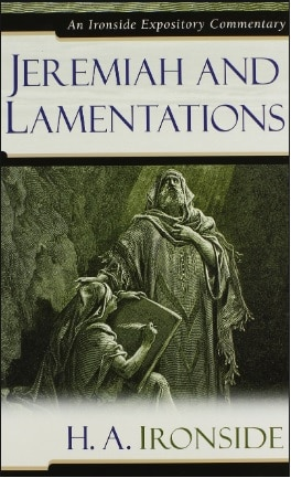 Lamentations commentary H.A. Ironside