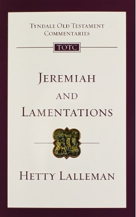 Lamentations commentary Hetty Lalleman