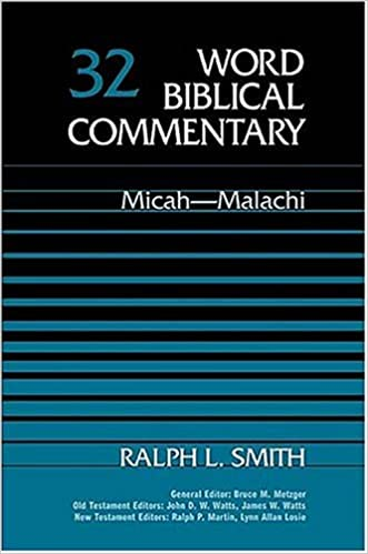 Zechariah commentary Ralph Smith