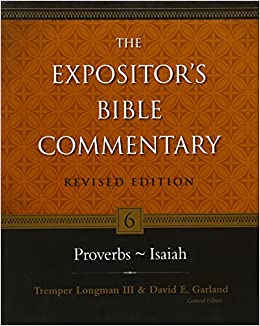 Proverbs commentary Expositor's