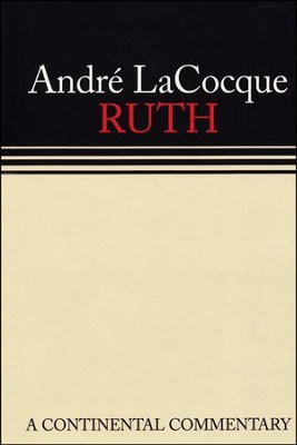 Ruth commentary Andre Lacocque