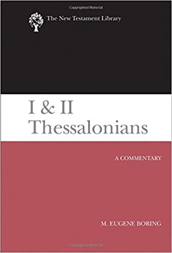 Thessalonians commentary Eugene Boring