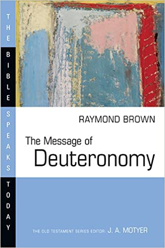Deuteronomy commentary Brown