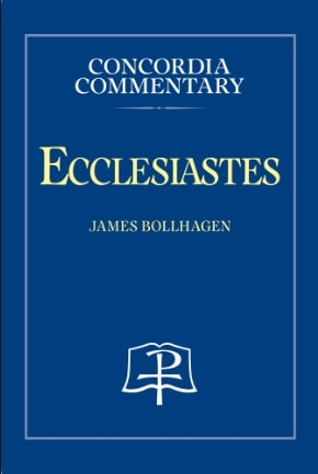 Ecclesiastes commentary Bollagen