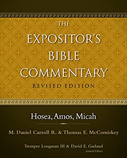 Hosea commentary Expositor's