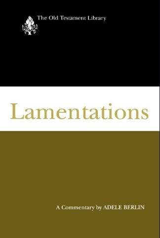 Lamentations commentary Berlin