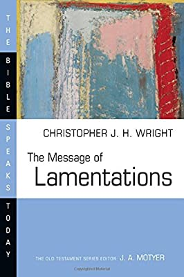 Lamentations commentary Wright