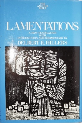Lamentations commentary Hillers